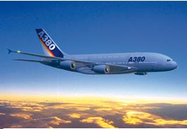 Aircraft Interiors A380 mockup