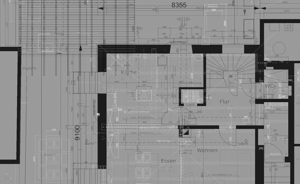 Grundriss Bauausführung