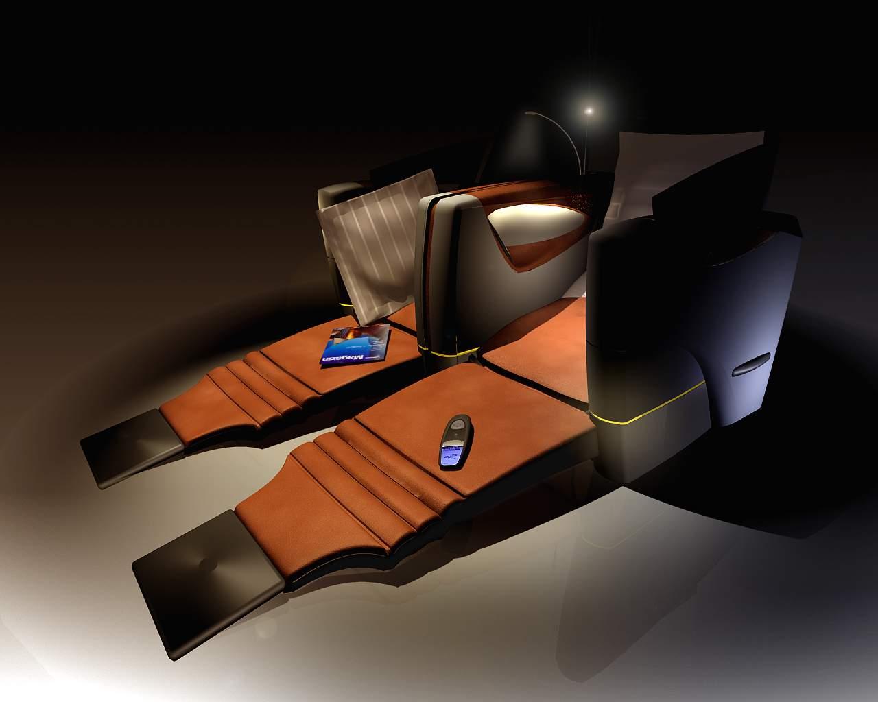 Lufthansa Business ClassSeat