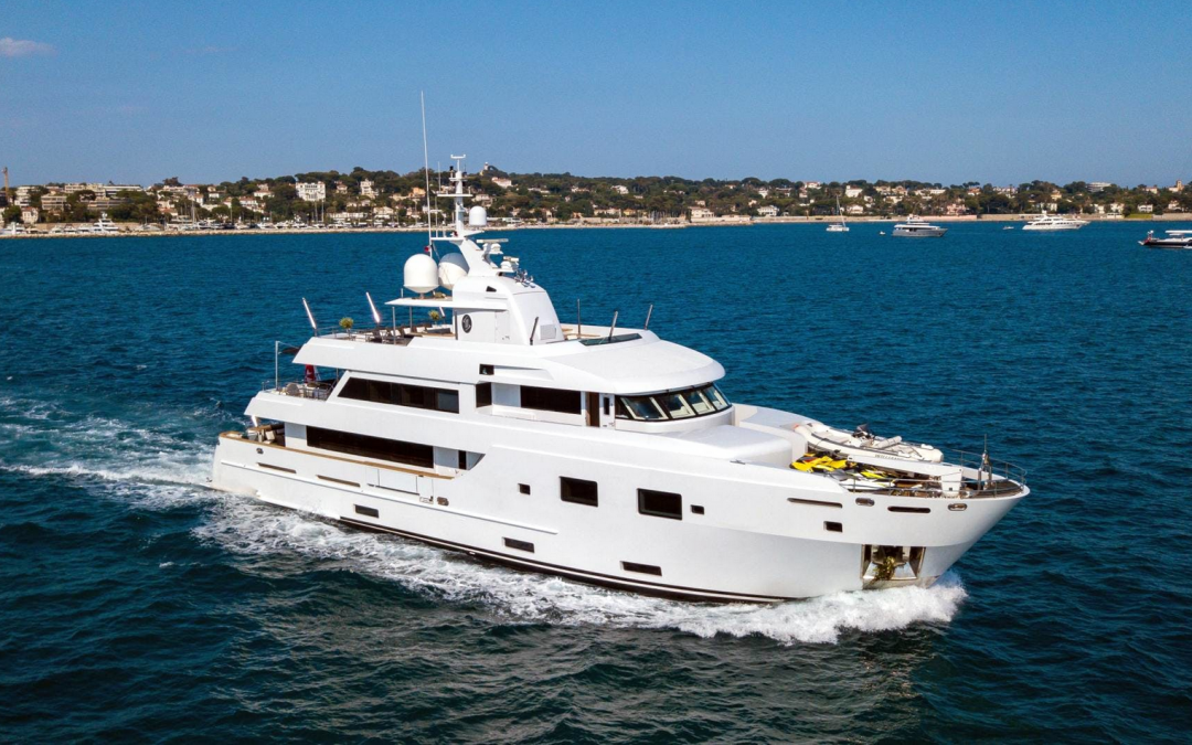 35m Courage | Motor Yacht